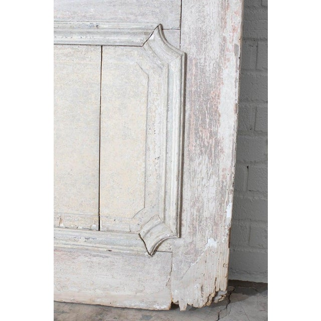 Rustic Pair of 19th Century French Painted Panel Doors For Sale In San Francisco - Image 6 of 13