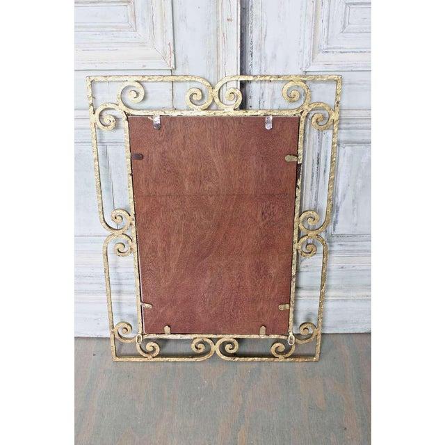 Spanish Gilt Metal Mirror - Image 9 of 10