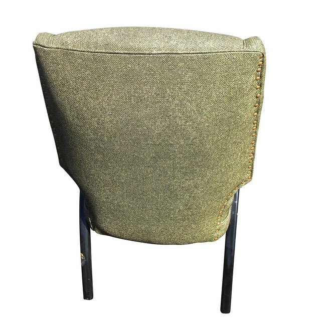 Danish Modern Vintage Mid-Century Pair of Italian Style Lounge Chairs Mr14715 For Sale - Image 3 of 9