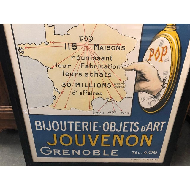 This is a 20th century French poster, advertising the Paris-Province counters of the chain of stores A la Gerbe d'Or,...