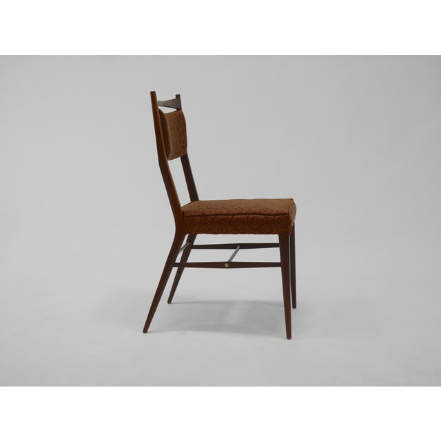 Walnut Eight Dining Chairs by Paul McCobb For Sale - Image 7 of 8