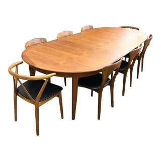 Danish Modern Teak Dining Set