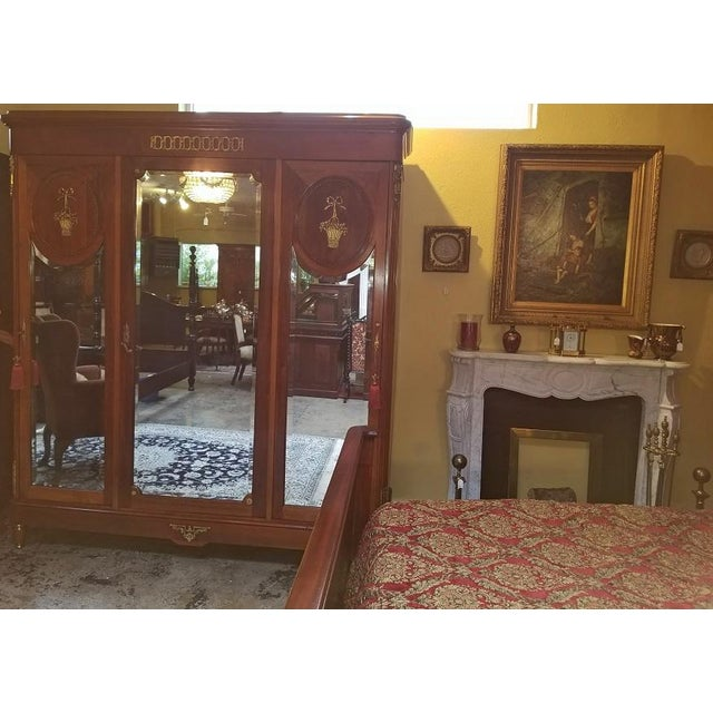 Louis XVI 19c French Louis XVI Style Complete Bedroom Set For Sale - Image 3 of 12