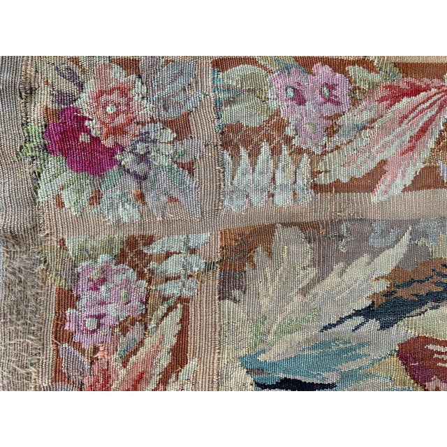 Late 19th Century French Des Bois Tapestry- 6 X 6' For Sale In San Diego - Image 6 of 13