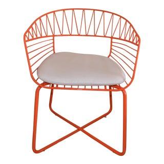 Modern West Elm Soleil Bistro Chair For Sale