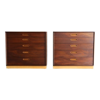 Edward Wormley Chest for Dunbar, 1955 - a Pair For Sale