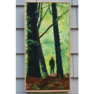 "Contemporary Painting, ""Entering the Forest"", by Stephen Remick Preview"
