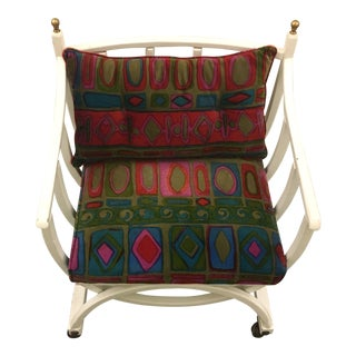 Seventies Chair on Casters