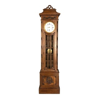 Antique French Louis XVI Long Case Clock, Dated 1926 For Sale