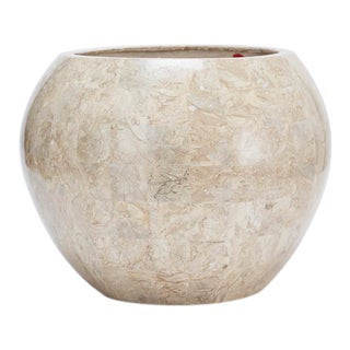 "1990s Contemporary Tessellated Cantor Stone ""Bombay"" Planter For Sale"