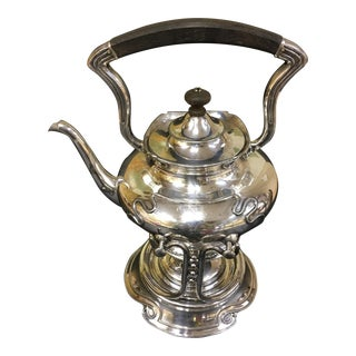 Wilcox Quadruple Silver Plated Tilting Tea Pot