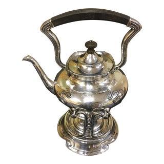 Wilcox Quadruple Silver Plated Tilting Tea Pot