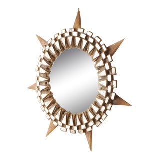 "Large ""Tudor"" Mirror by Line Vautrin, 1955-1965 For Sale"
