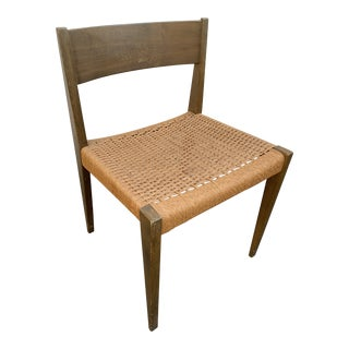 Mid Century Rope Chair For Sale