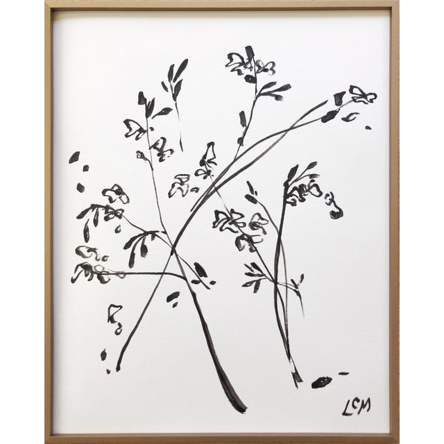 Contemporary Contemporary Lynne Millar Painting of Cherry Blossoms - 3 For Sale - Image 3 of 3