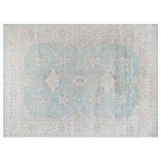 Stark Studio Rugs Traditional New Oriental 50% Wool/50% Viscose Rug - 9′ × 12′2″ For Sale