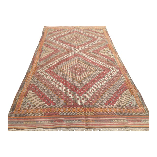 Turkish Anatolian Rug - 4′11″ × 9′3″ For Sale