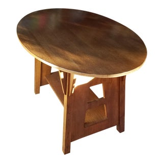 Stickley Limbert Oak Library Table For Sale