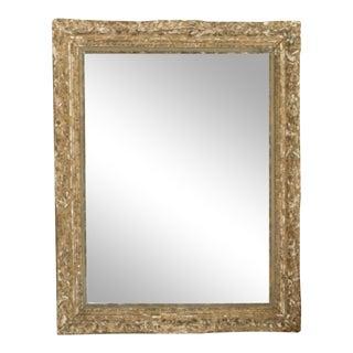 Antique 19th Century Italian Gesso Mirror For Sale