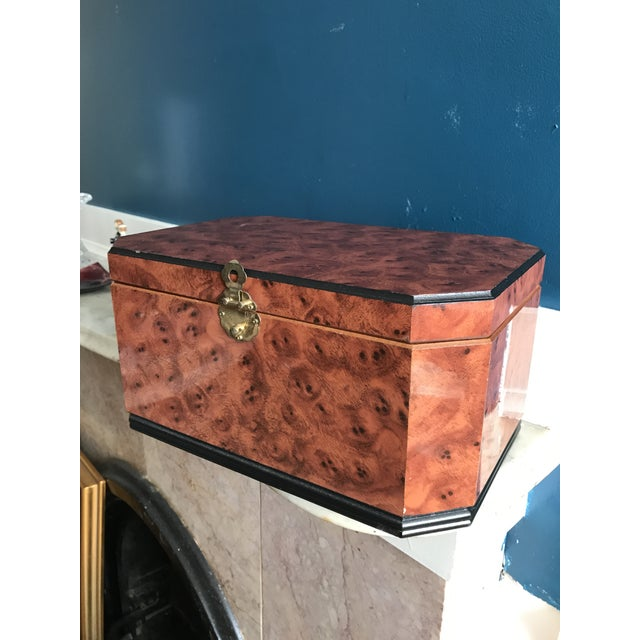 Vintage Burl Wood Box - Image 3 of 5