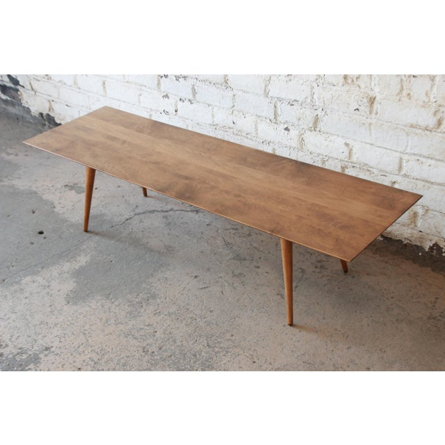"""Winchendon Furniture """"Planner Group"""" Paul McCobb Planner Group Birch Coffee Table For Sale - Image 4 of 11"""