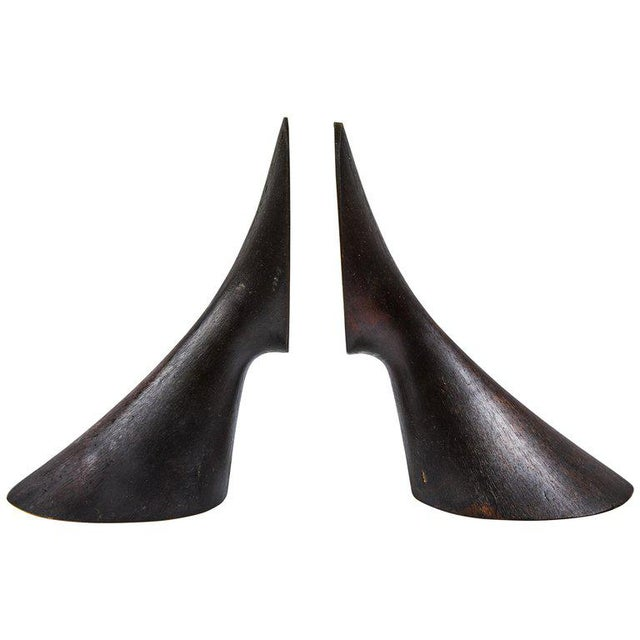 Metal Carl Auböck Model #3651 Brass Bookends - A Pair For Sale - Image 7 of 7