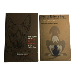 My Dog Tulip & How to Raise a Dog - A Pair For Sale