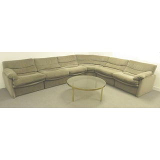 1970s Mid-Century Modern Htb a Division of Lane Furniture Modular Sectional Sofa Preview