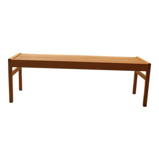 Solid Maple Bench