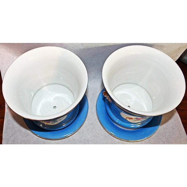 Carl Tielsch Porcelain Planters - A Pair - Image 5 of 7