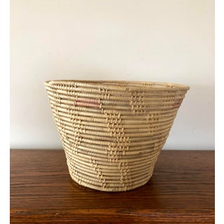 Vintage Native American Handcrafted Basket Preview