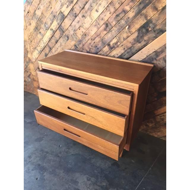 Mid-Century Refinished Mahogany Dresser - Image 3 of 7