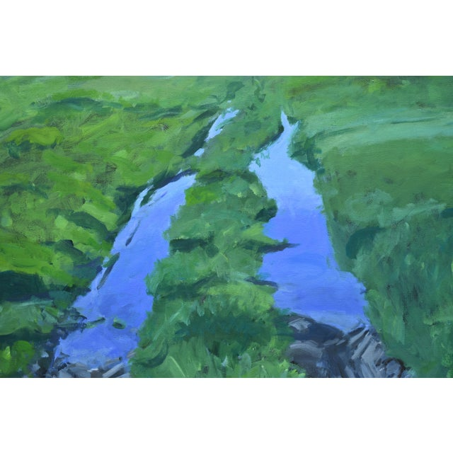 """Stephen Remick """"Ruts in the Field to the Chicken Coop"""" Painting For Sale - Image 4 of 12"""