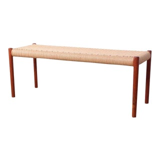 Bench by Niels O. Møller For Sale