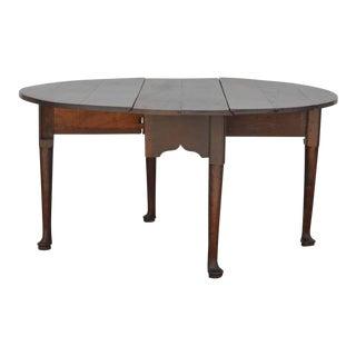 Stunning Georgian Oak Gate-Leg Table, Circa 1780 For Sale
