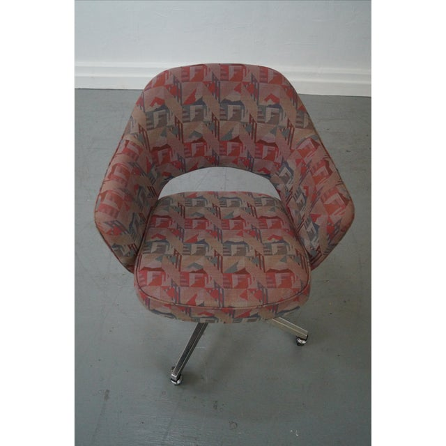 Vintage Mid-Century Saarinen Office Chair - Image 10 of 10