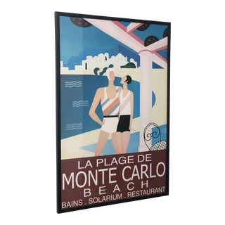 Monte Carlo Railroad Framed Print For Sale