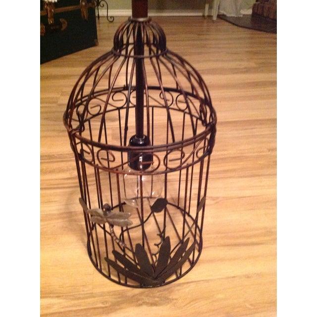 Black & Bronze Birdcage Chandelier - Image 2 of 4