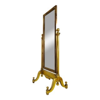 Free Standing Pivoting Floor Mirror For Sale