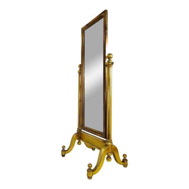 Free Standing Pivoting Floor Mirror | Chairish