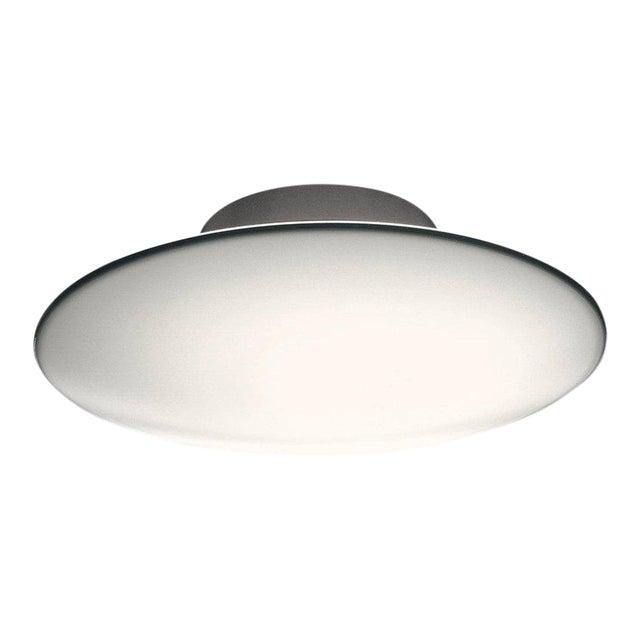 Image of Large Arne Jacobsen 'Eklipta' Flush Mount Light for Louis Poulsen