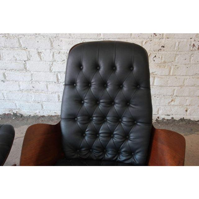 """George Mulhauser for Plycraft """"Mr. Chair"""" and Ottoman For Sale - Image 5 of 10"""