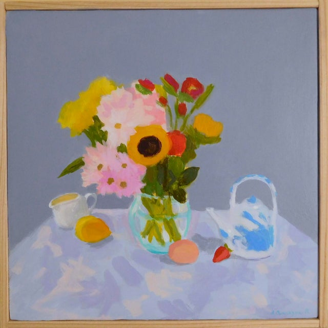 2010s Morning Table by Anne Carrozza Remick For Sale - Image 5 of 6