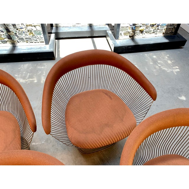 1960s Original Platner Arm Chairs for Knoll International - Set of Four For Sale - Image 9 of 12