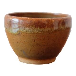 Multicolored Hand Made Studio Pottery Vessel