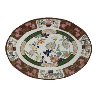 Ashworth Real Inronstone China Imari Oval Platter For Sale