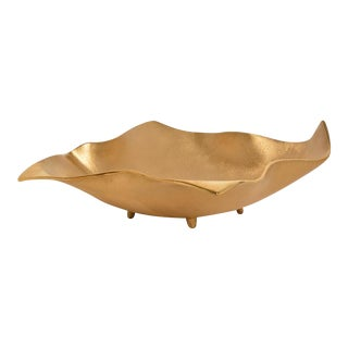 AURA LONDON Fold Decorative Object, Gold For Sale
