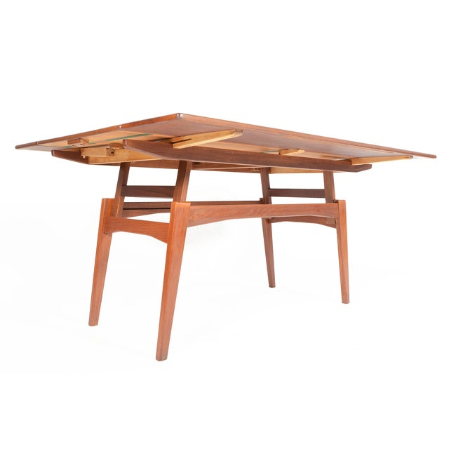Danish Modern Coffee or Dining Elevation Table - Image 2 of 9