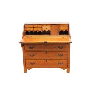 Birdseye Maple Slant Lid Early Desk