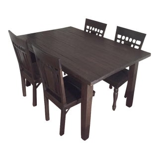 Far East Trading Co. Teak Dining Set